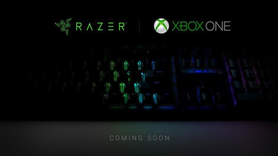 Xbox One keyboard, mouse support confirmed, Razer peripherals coming
