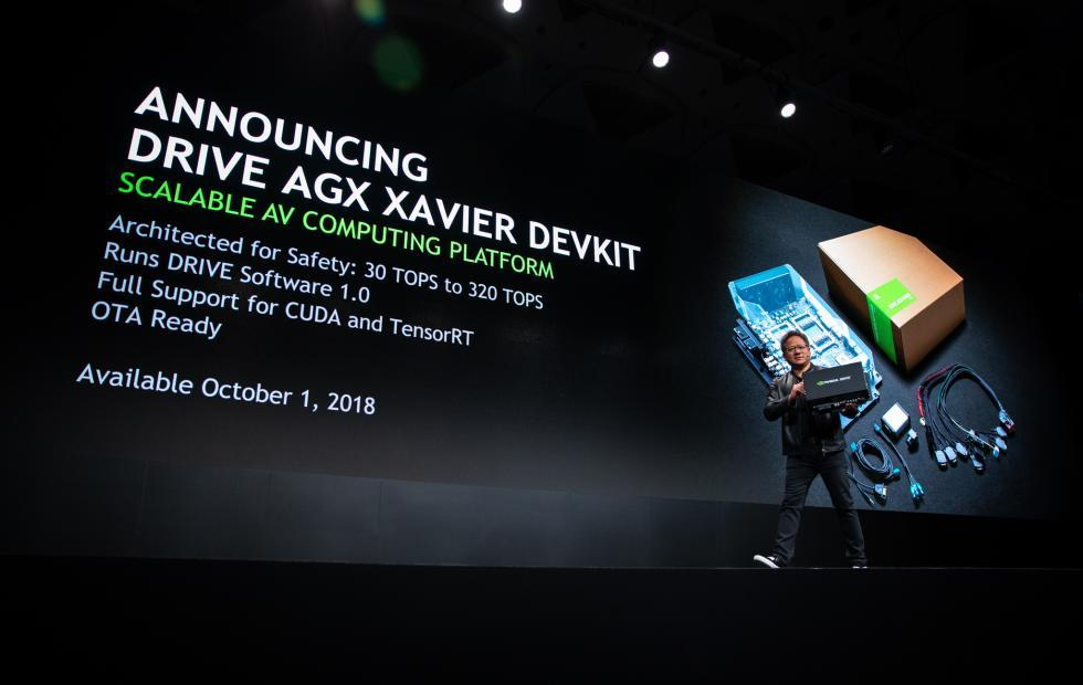 NVIDIA DRIVE AGX, Jetson AGX Xavier dev kits roll out