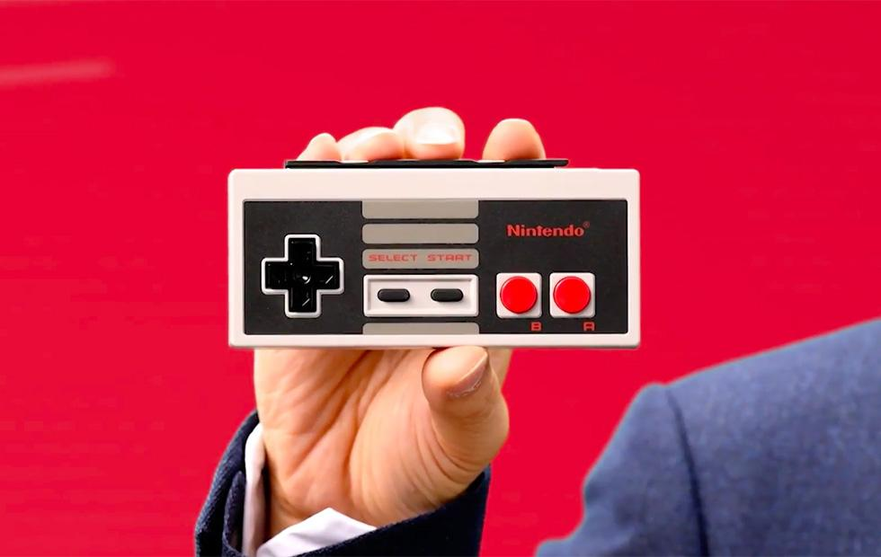 Nintendo Switch wireless NES controller preorders start next week