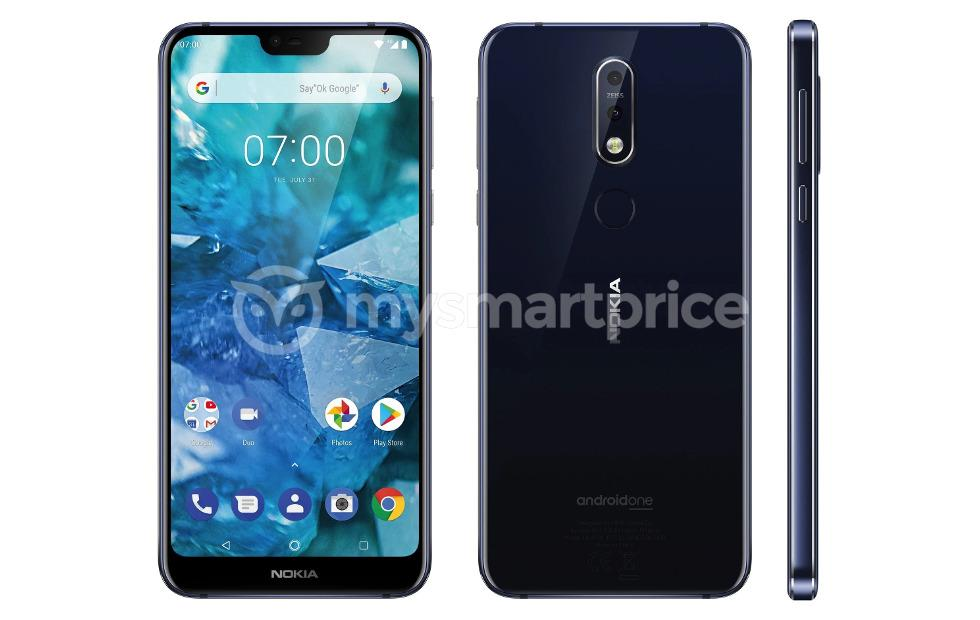 Nokia 7.1 Plus (X7) unofficially debuts in leaked render