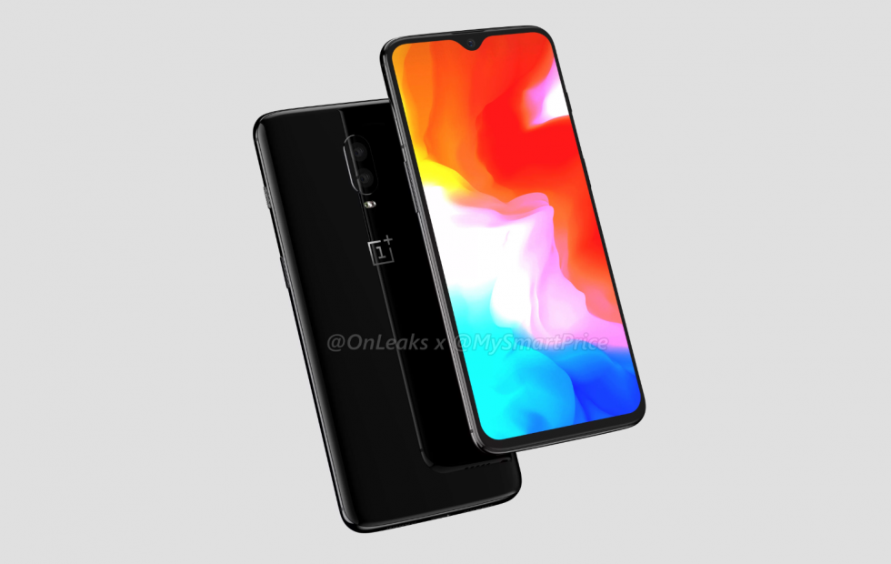 OnePlus 6T renders show off waterdrop notch, but no headphone jack