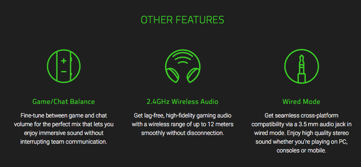 Razer Nari is a wireless headset with physical vibrations