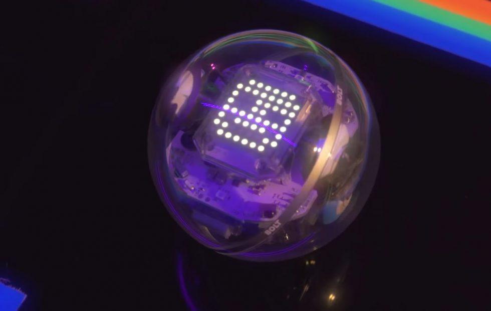 Sphero BOLT robot returns the focus to education