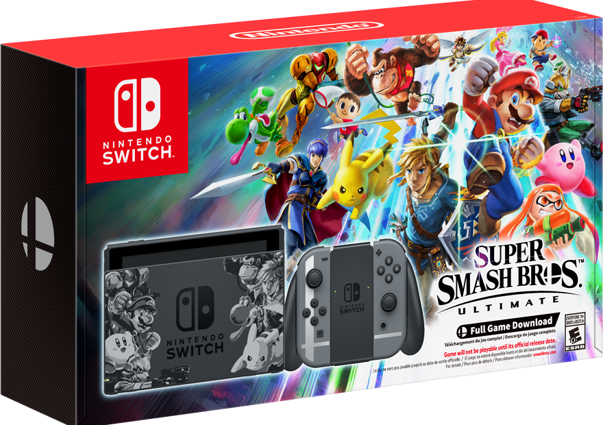 Super Smash Bros Ultimate is getting a special edition Switch bundle