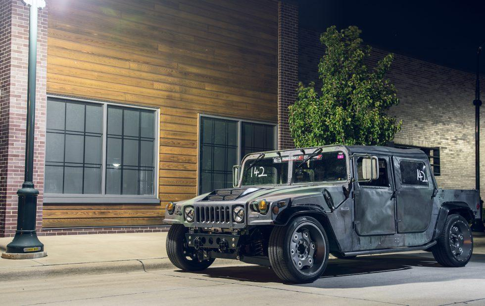 This outrageous Hummer is built for the race track