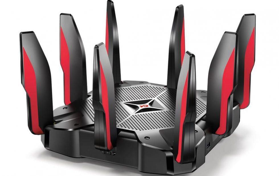 TP-Link Archer C5400X gaming router is a tri-band beast
