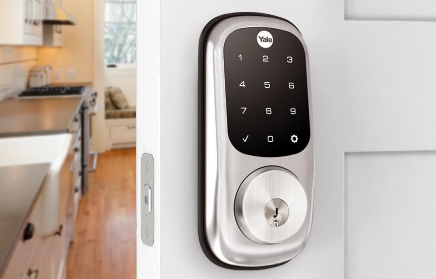 Yale Assure Lock Connected by August gives your door a smart upgrade