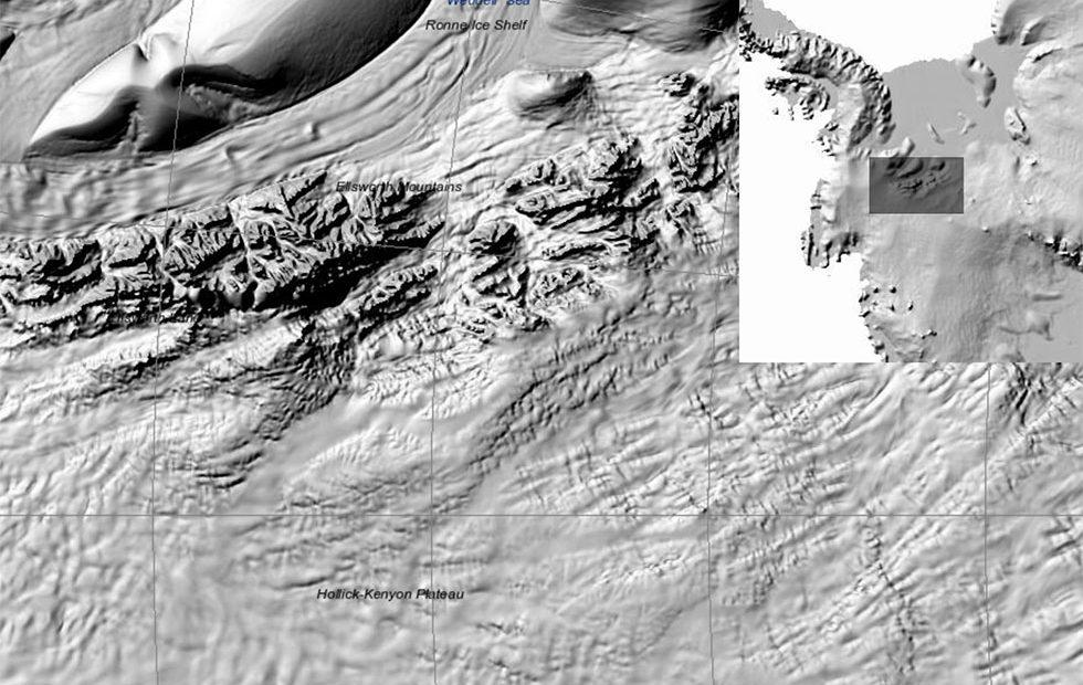 Antarctica Map: Highest resolution terrain map yet made