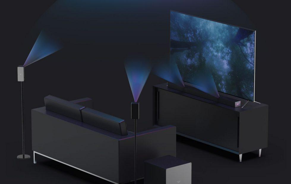 VIZIO Dolby Atmos Home Theater Systems bring sound form