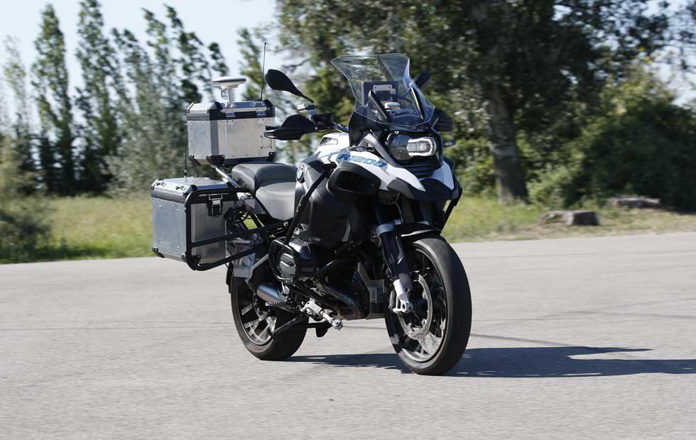 BMW's autonomous R 1200 GS motorcycle is a safety equipment testbed