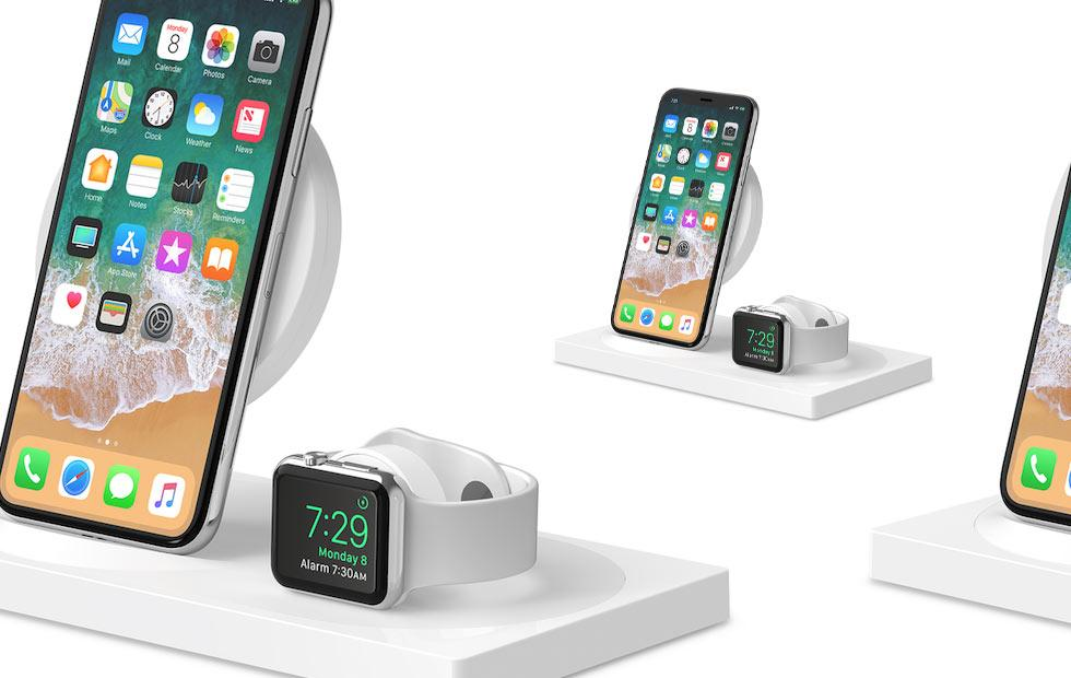Belkin BoostUp Wireless Charging Dock made for iPhone Xs and new Apple Watch