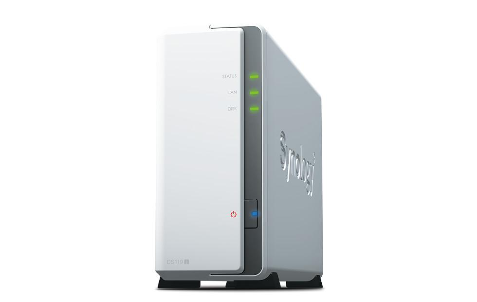 Synology DiskStation DS119j brings a 1-bay NAS option