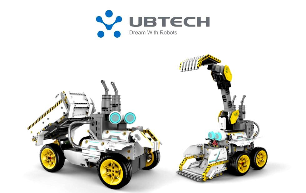 JIMU Robot BuilderBot Series: Overdrive Kit is robotics made LEGO-easy