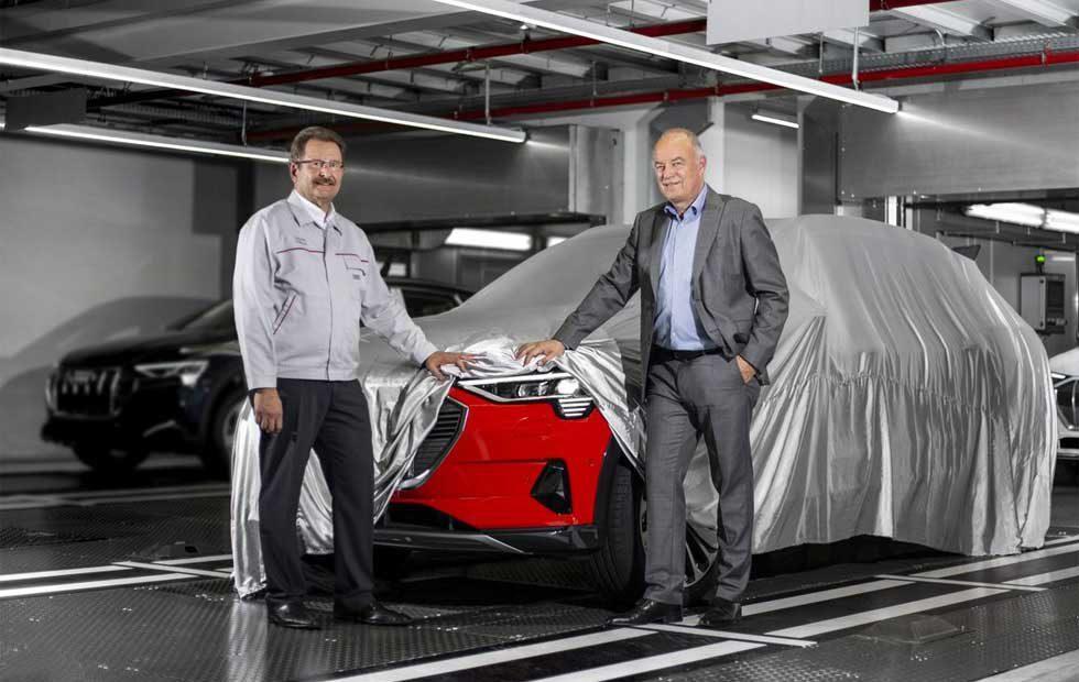 Audi e-tron mass production kicks off