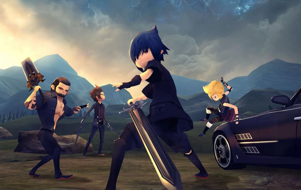 Final Fantasy XV Pocket Edition now on PS4, Xbox One, soon on Switch