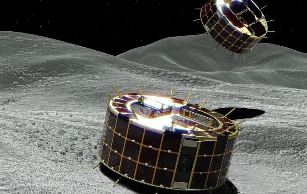 Hayabusa2 MINERVA-II1 hopping rovers send back asteroid pics