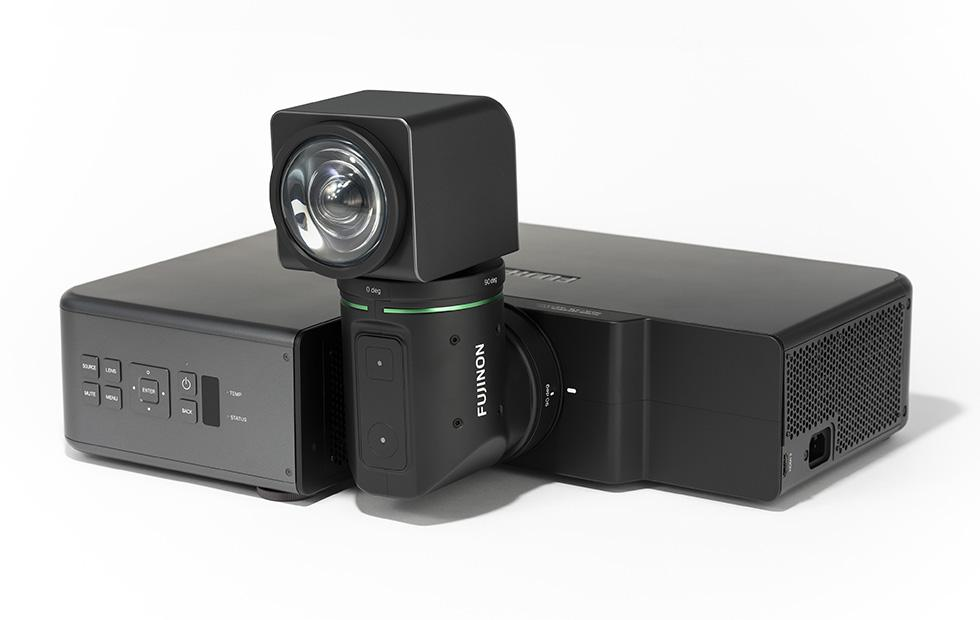 Fujifilm unveils projector with rotating lens for compact spaces