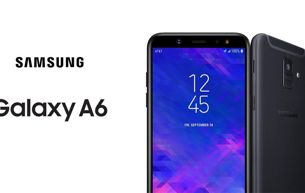 Galaxy A6 (2018) lands on AT&T a few months too late