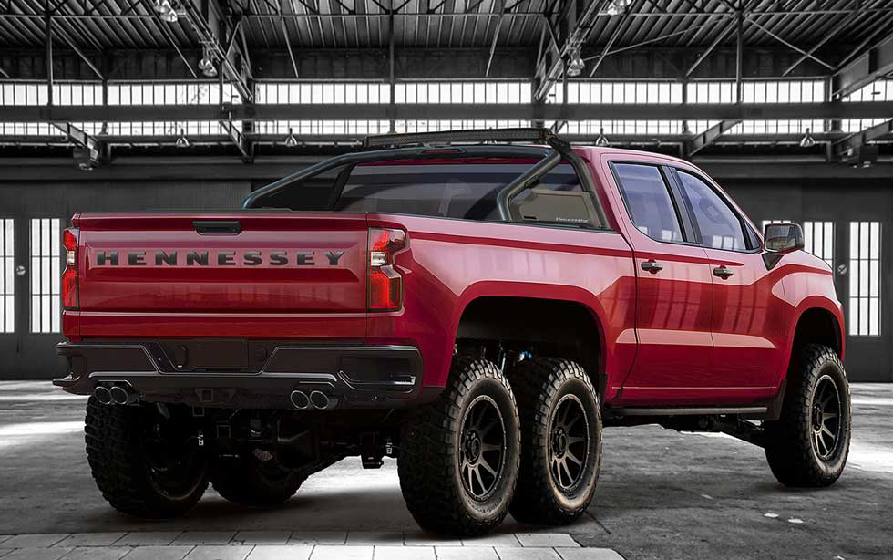 Hennessey Goliath 6×6 is a Silverado on steroids
