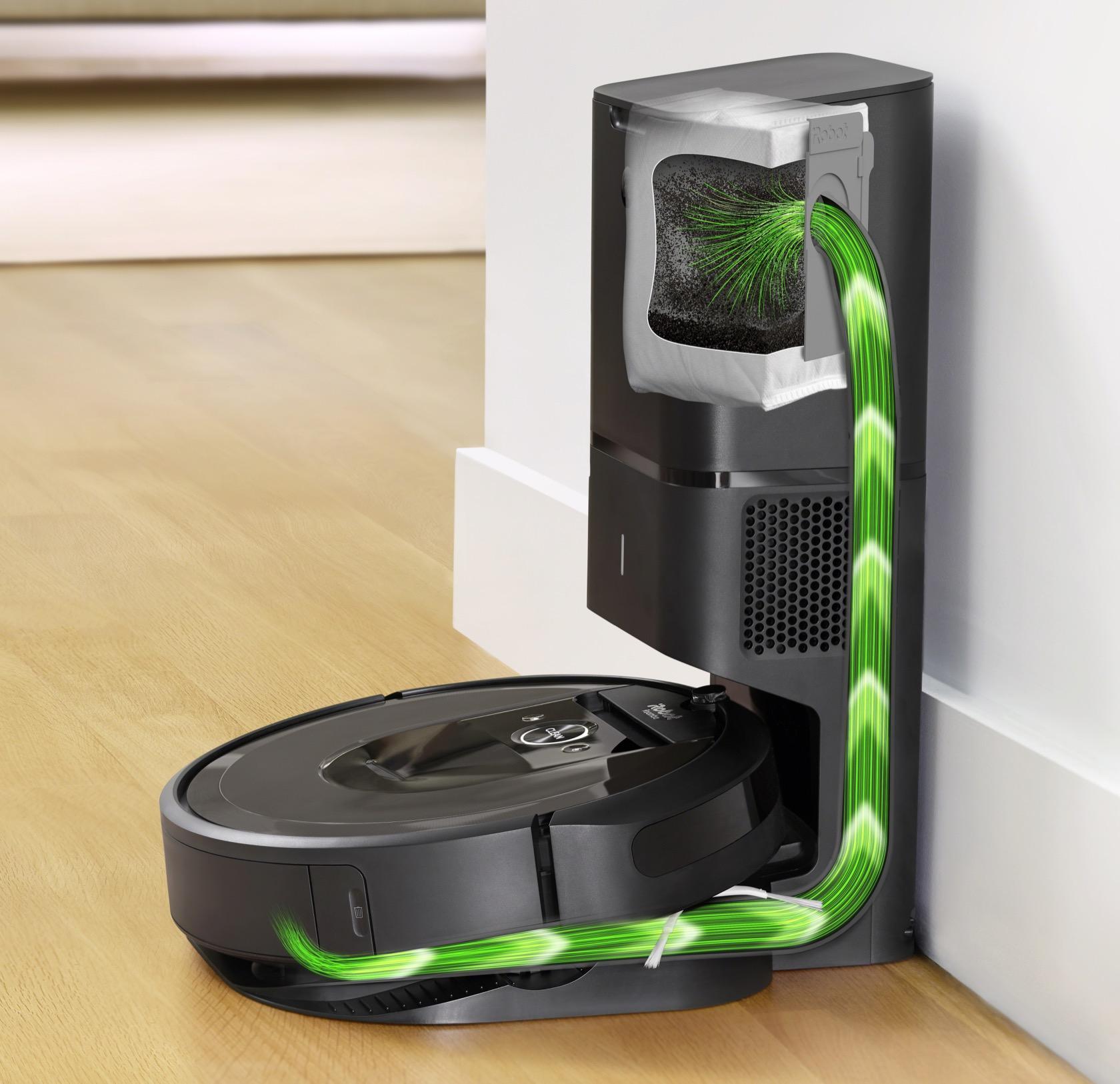 Irobot S Self Emptying Roomba I7 Fixes Robot Vacuums Big