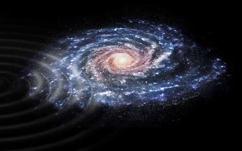 ESA's Gaia finds the Milky Way is still recovering from near collision