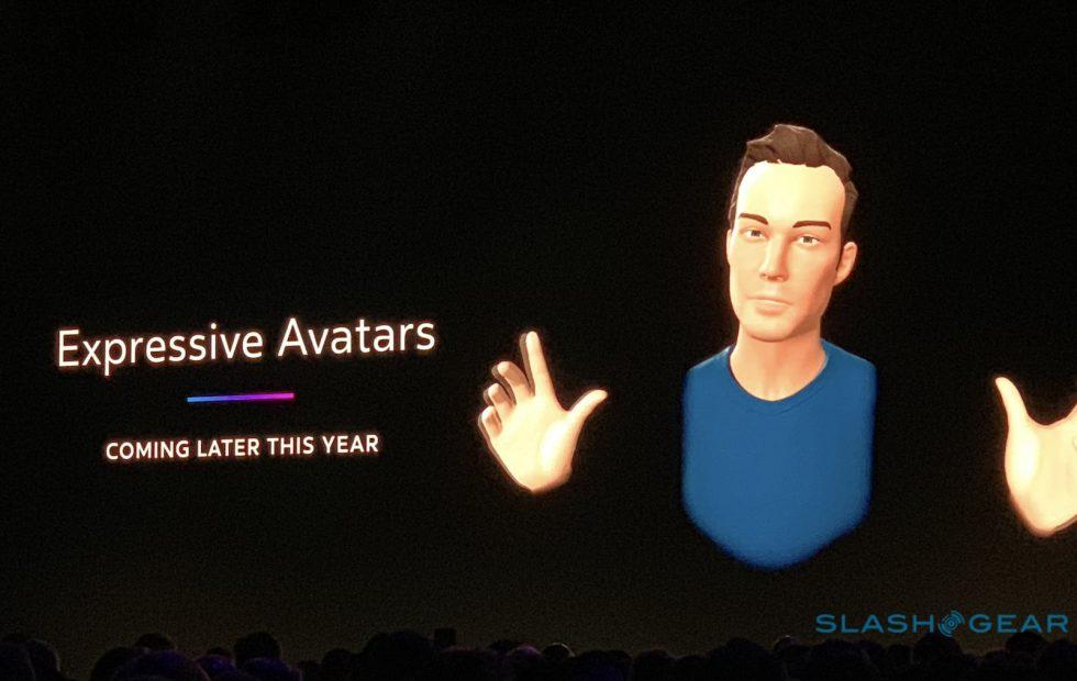 These Oculus expressive avatars are the unsettling future of VR everywhere