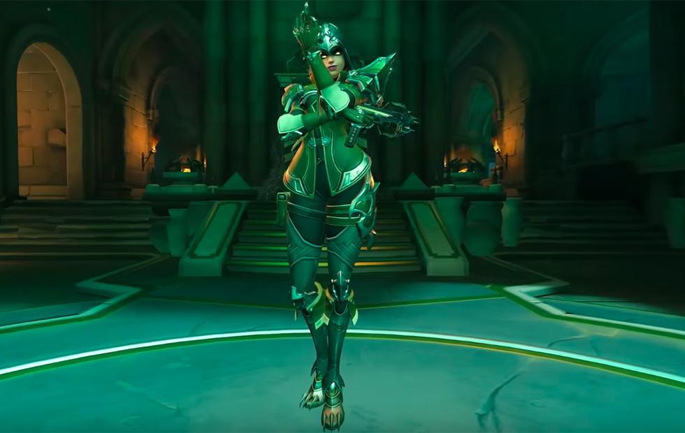 Overwatch adds exclusive Legendary Demon Hunter skin for Sombra