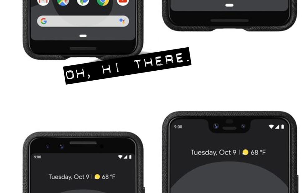 Google Pixel 3 press renders leaked with details
