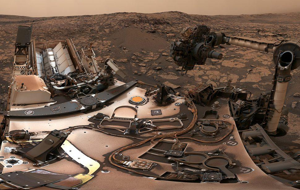 NASA Curiosity rover finds Mars rocks that are too hard to drill