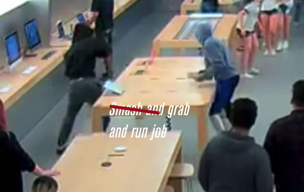 Apple Robbery Ring busted, in part