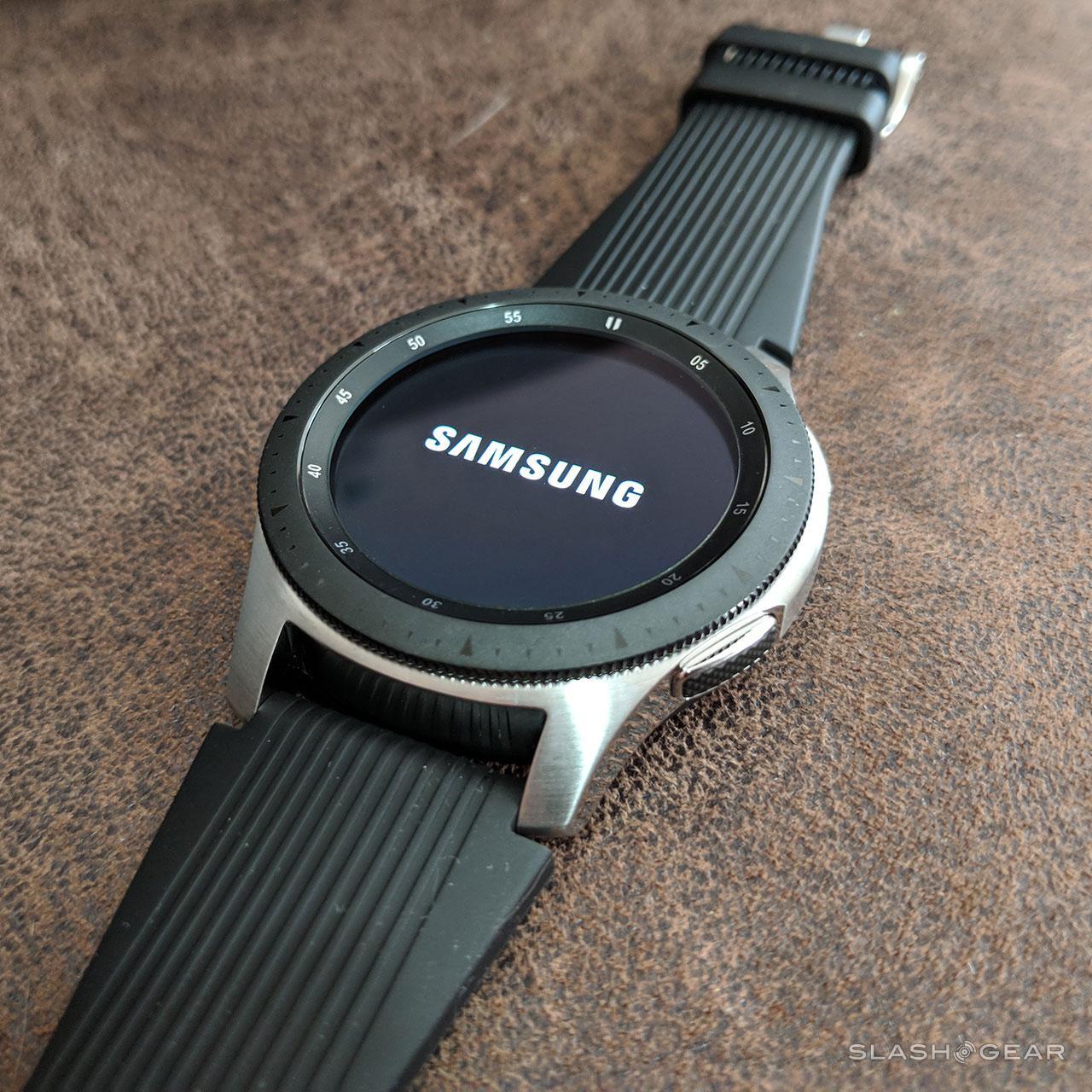 Samsung Galaxy Watch Review: Just Right - SlashGear