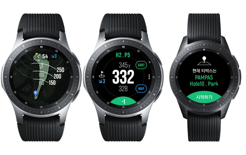 Samsung Galaxy Watch Golf Edition has data on 60,000 courses