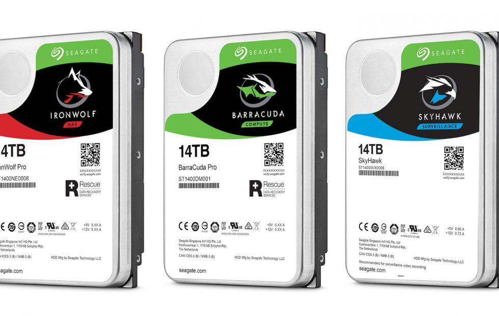 Seagate's 14TB hard drives drop huge storage in your PC or NAS