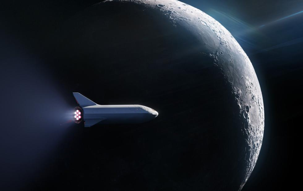 SpaceX finally has its first tourist to fly around the moon