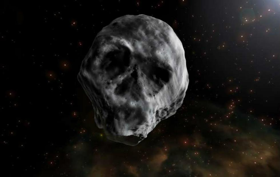 Skull asteroid returns for another flyby, but it'll miss Halloween this year