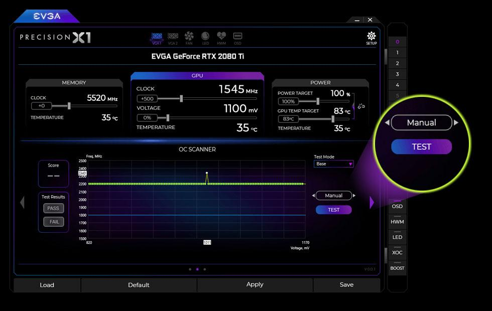 NVIDIA Scanner: RTX GPU Overclock in one click