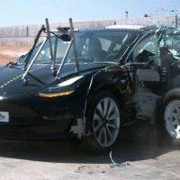 2018 Tesla Model 3 gets 5-star side crash rating - SlashGear