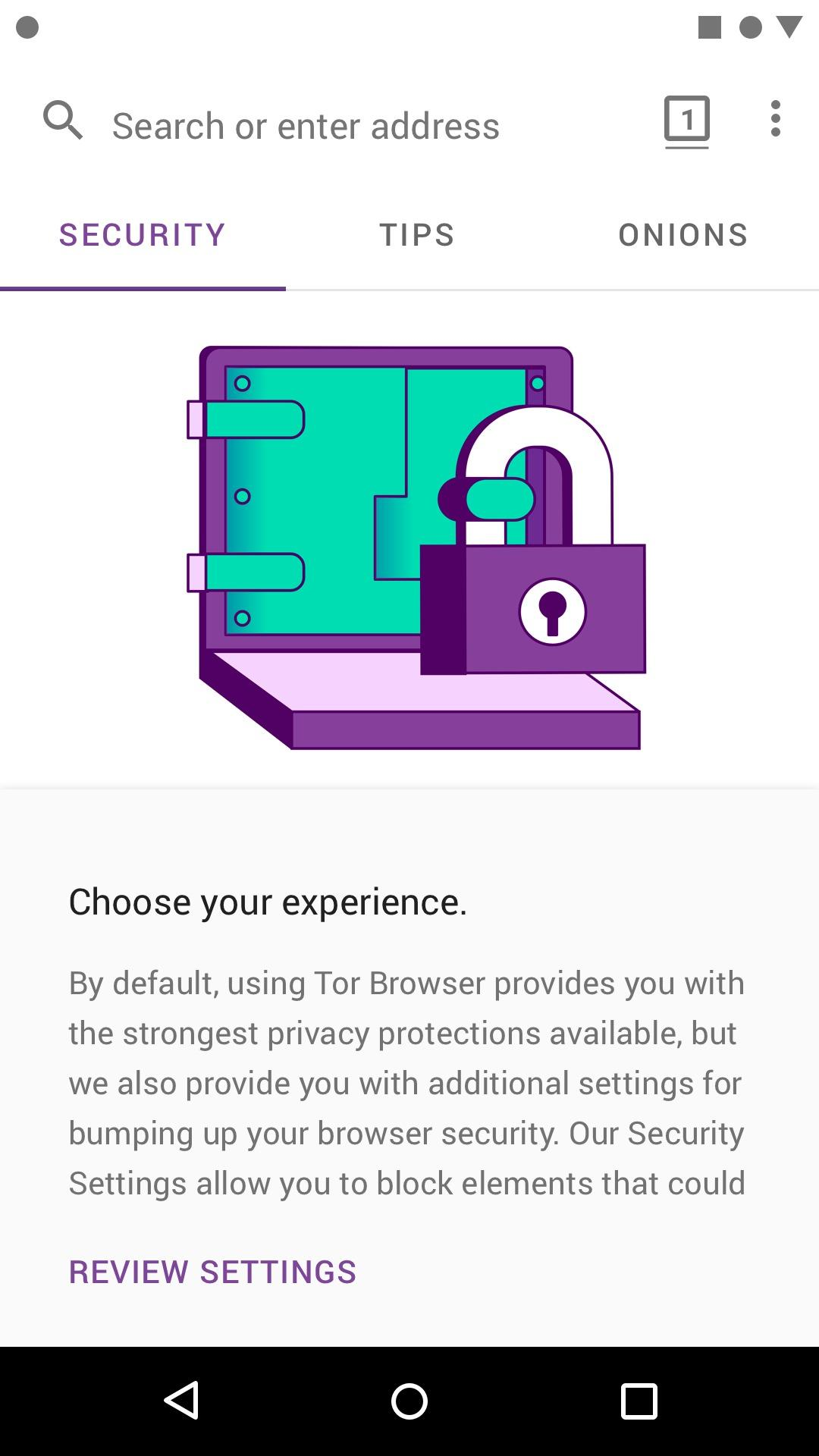 tor browser app for android