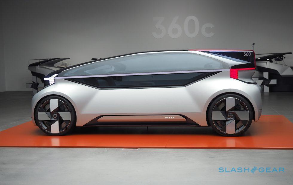 Volvo 360c concept gives autonomous cars a purpose and a voice