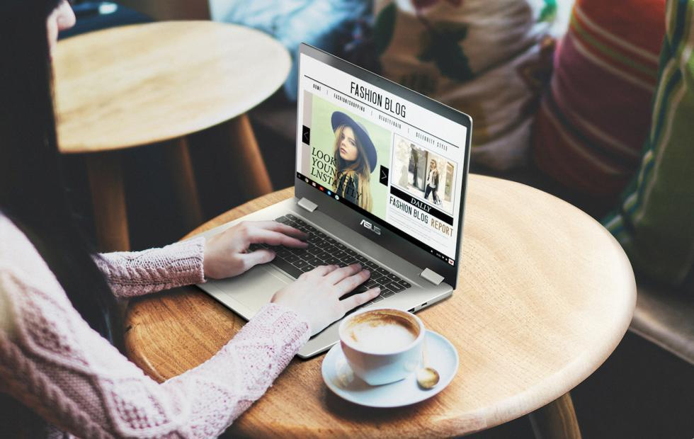 ASUS Chromebook C523 ventures into 15-inch territory