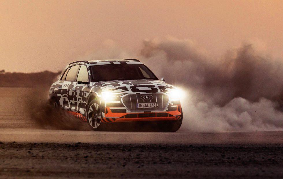2019 Audi e-tron first drive review: Drifting an EV SUV