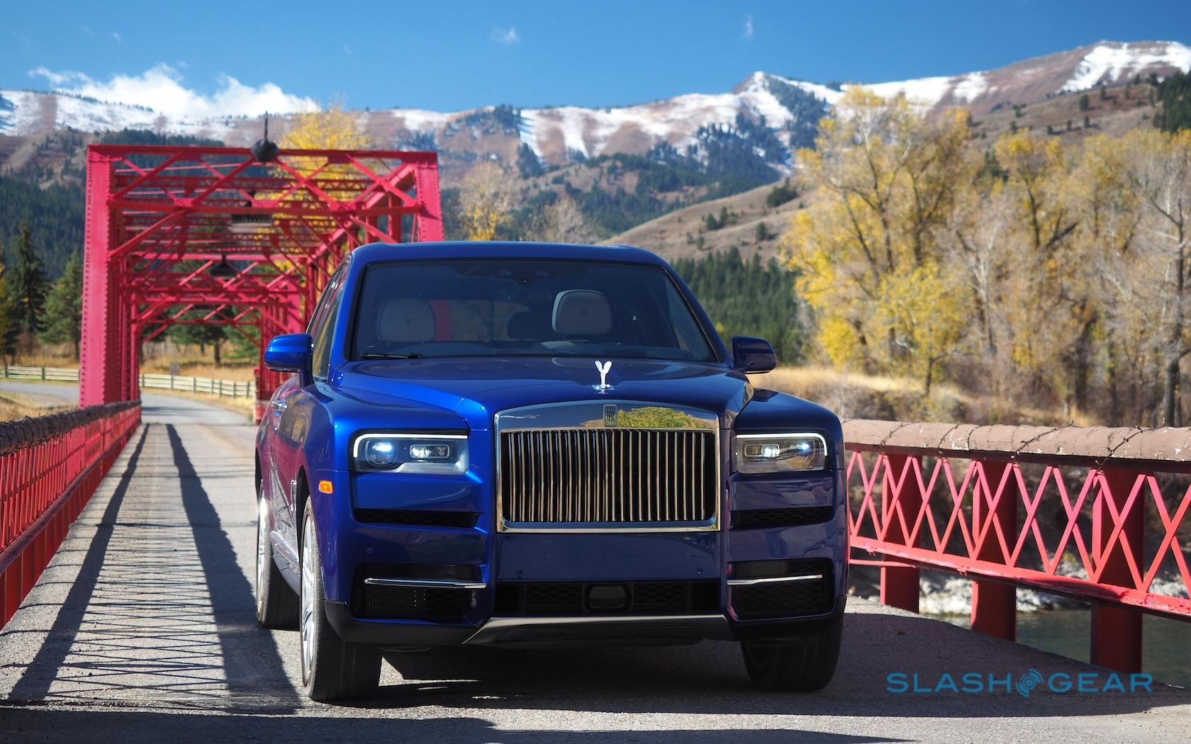 2019 Rolls Royce Cullinan First Drive Excess Comes With A Surprise Slashgear