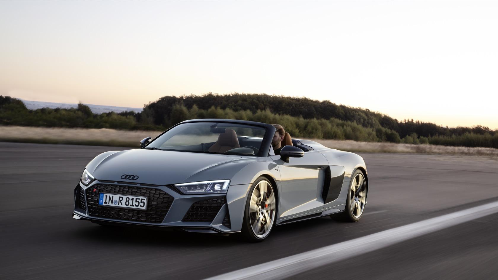 2019 Audi R8 Gets Meaner Look And More Power Slashgear