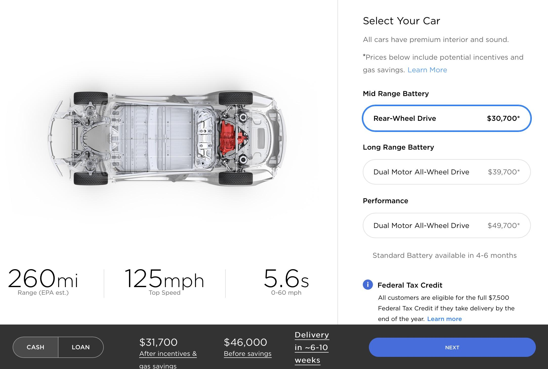 Tesla Model 3 mid-range is new cheapest version - SlashGear