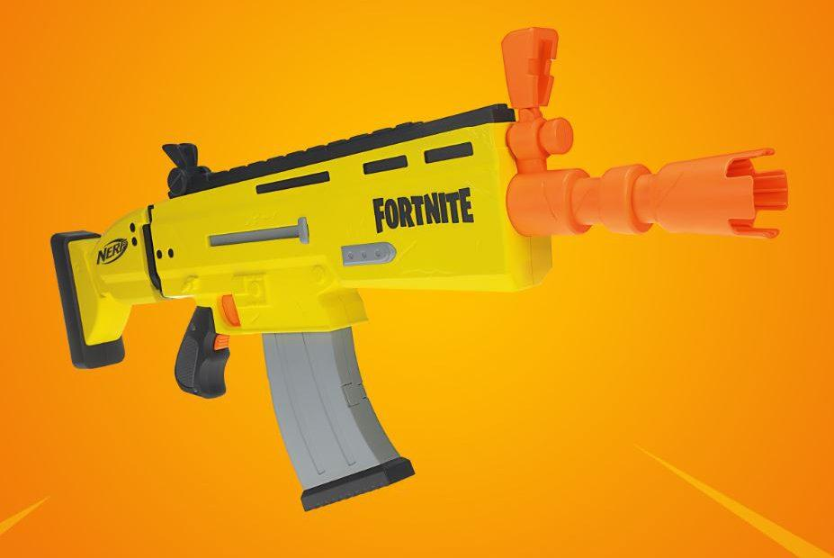 Have a look at the first Fortnite NERF blaster