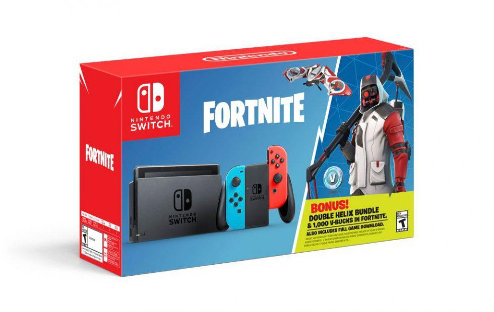 nintendo switch fortnite bundle released here s what you get - no sound fortnite nintendo switch