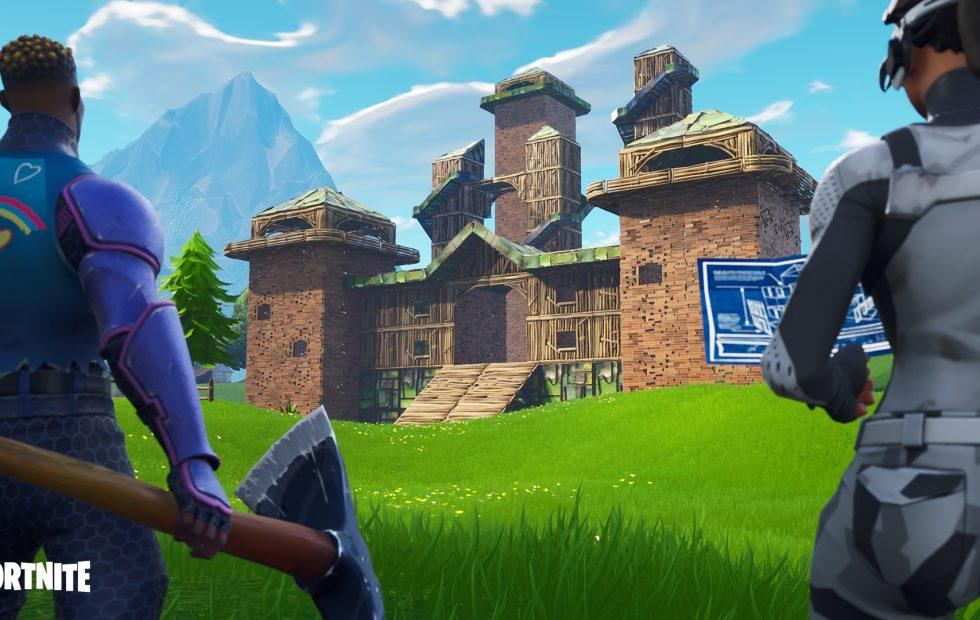 Fortnite patch notes introduce the new Chiller trap
