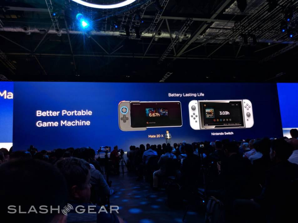 Huawei Mate 20 X takes Pro out a new gaming door - SlashGear