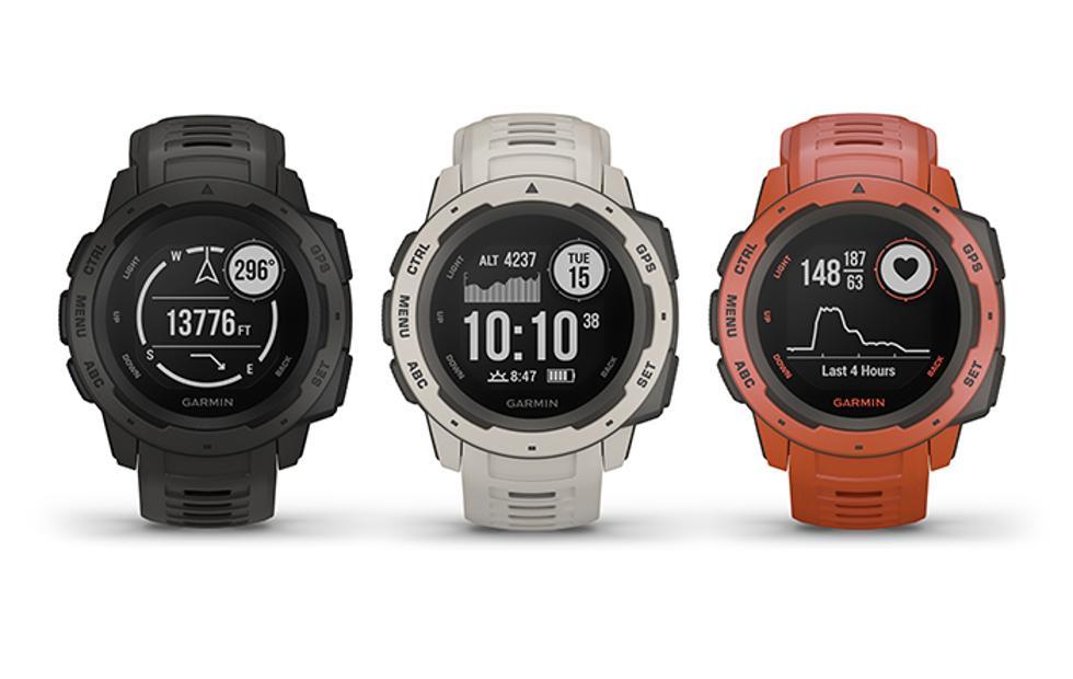 Garmin Instinct GPS watch is built for outdoor adventures