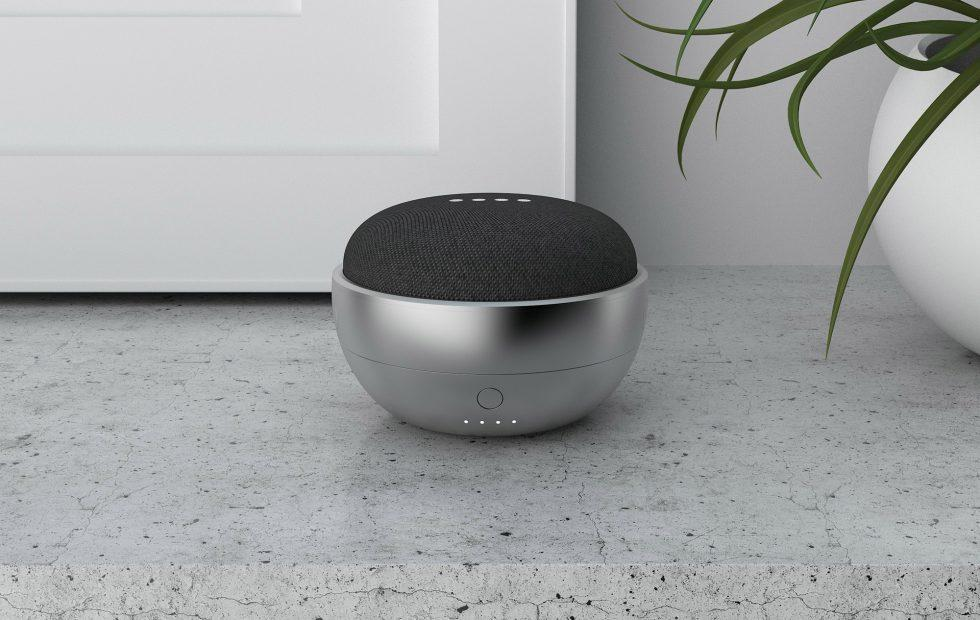 JOT turns Google Home Mini into a portable smart speaker